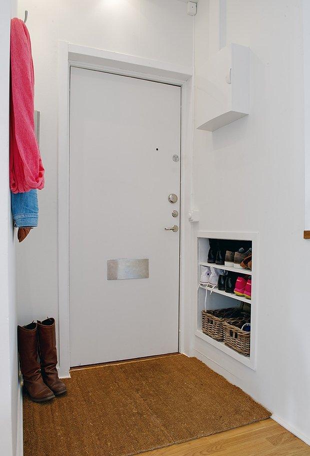 Фотография: Прихожая в стиле Скандинавский, Современный, Интерьер комнат – фото на INMYROOM