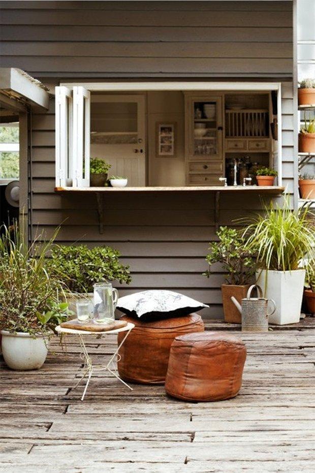 Фотография: Балкон, Терраса в стиле Прованс и Кантри, Декор интерьера, Мебель и свет, Для дачи и сада – фото на INMYROOM