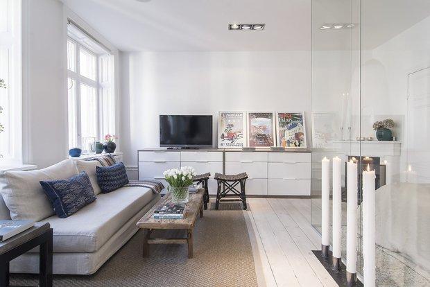 Фотография:  в стиле , Малогабаритная квартира, Советы – фото на INMYROOM