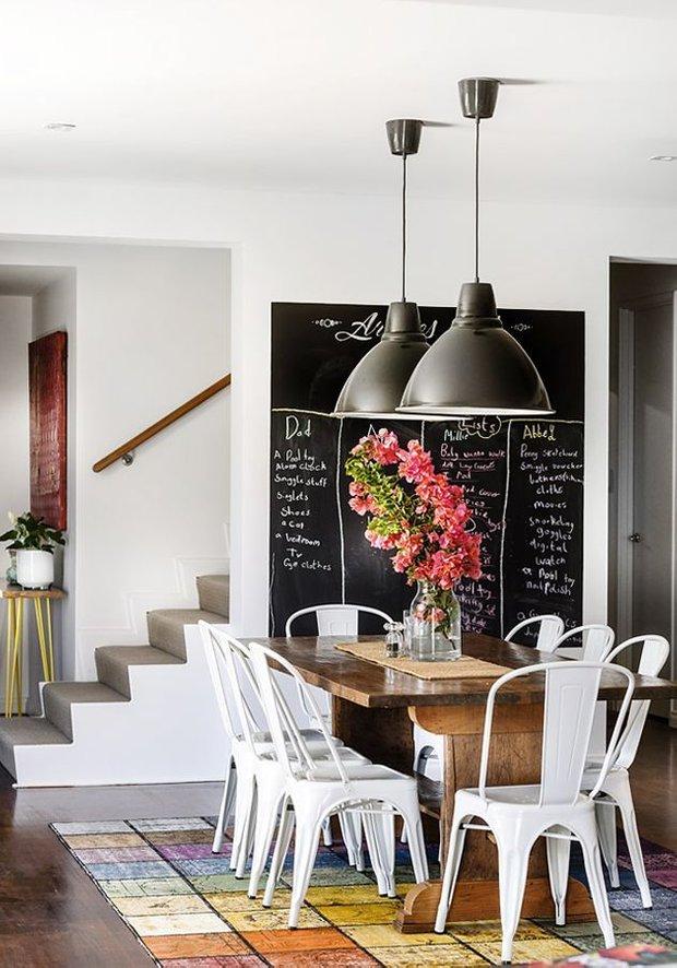Фотография: Кухня и столовая в стиле Лофт, Скандинавский, Декор интерьера, Текстиль, Декор, Декор дома, Пэчворк – фото на INMYROOM