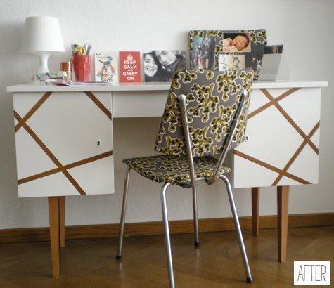 Фотография:  в стиле , Кабинет, Декор интерьера, DIY, Переделка – фото на INMYROOM