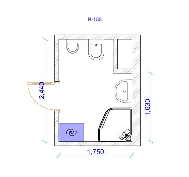 Фотография: Прочее в стиле , Квартира, Дома и квартиры, Советы, П-46, П-111М, И-155, II-03, КОПЭ-Парус – фото на INMYROOM