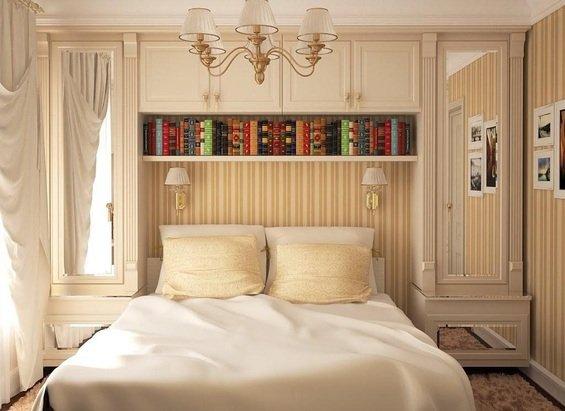 Фотография: Спальня в стиле Классический, Декор интерьера, Интерьер комнат, Хрущевка – фото на INMYROOM