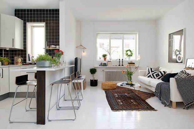 Фотография: Кухня и столовая в стиле Скандинавский, Дизайн интерьера – фото на INMYROOM