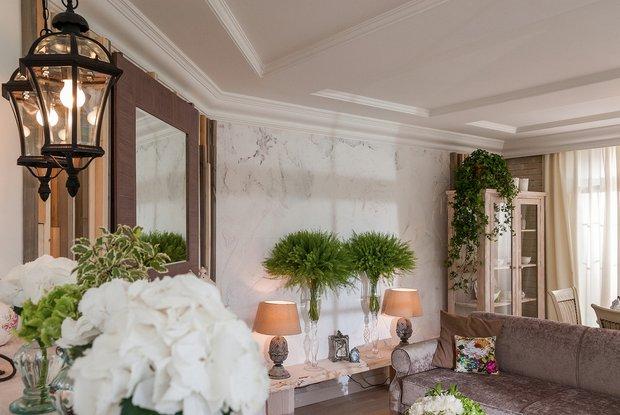 Фотография: Гостиная в стиле Прованс и Кантри, Марокко + Прованс, интерьерный стиль прованс, прованс в интерьере – фото на INMYROOM