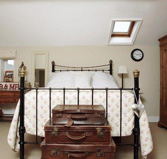 Фотография: Спальня в стиле Прованс и Кантри, Декор интерьера, Малогабаритная квартира, Квартира, Советы – фото на INMYROOM