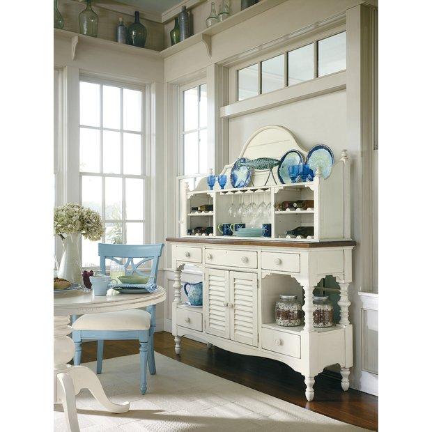 Фотография: Кухня и столовая в стиле Прованс и Кантри, Дизайн интерьера, Морской – фото на InMyRoom.ru