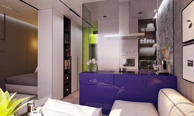 Фотография: Спальня в стиле Восточный, Декор интерьера, Малогабаритная квартира, Квартира, Студия – фото на INMYROOM