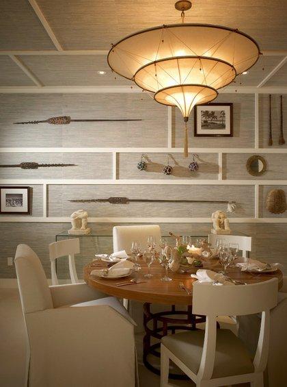 Фотография: Кухня и столовая в стиле Современный, Декор интерьера, Декор дома, Цвет в интерьере, Обои – фото на INMYROOM