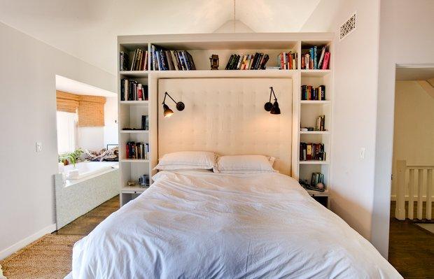 Фотография: Спальня в стиле Скандинавский, Современный, Дома и квартиры, Интерьеры звезд – фото на INMYROOM