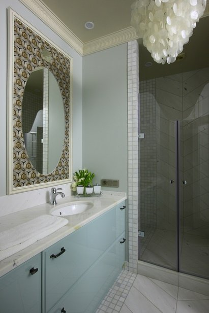 Фотография: Ванная в стиле Классический, Советы, маленькая ванная – фото на INMYROOM