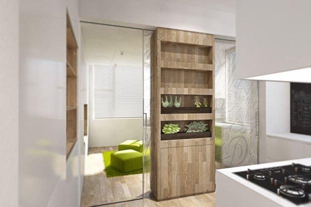 Фотография: Спальня в стиле Классический, Декор интерьера, Малогабаритная квартира, Квартира, Студия – фото на INMYROOM