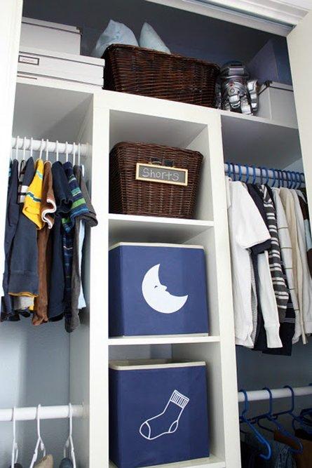 Фотография:  в стиле Современный, Детская, Интерьер комнат, Системы хранения – фото на INMYROOM