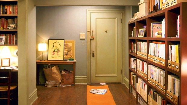 Фотография: Прихожая в стиле Скандинавский, Кабинет, Интерьер комнат – фото на INMYROOM