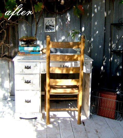 Фотография: Декор в стиле Прованс и Кантри, Кухня и столовая, Декор интерьера, DIY, Мебель и свет, Переделка, Кресло, Диван, Люстра, Комод, Зеркало, Стул, Холодильник, идеи переделки старой мебели, переделка старой мебели фото – фото на INMYROOM