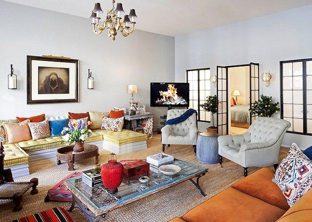 Фотография: Гостиная в стиле , Лофт, Эклектика, Декор интерьера, Швеция, Декор дома, Советы, Шебби-шик – фото на INMYROOM