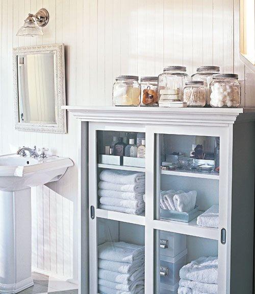Фотография: Ванная в стиле Прованс и Кантри, Стиль жизни, Советы, Системы хранения – фото на INMYROOM