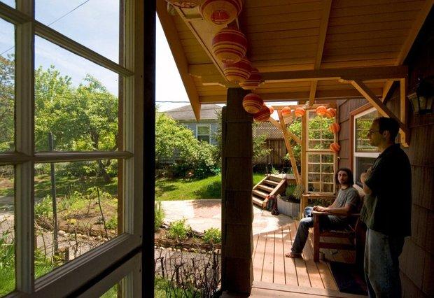 Фотография: Балкон, Терраса в стиле Прованс и Кантри, Современный, Дом, Дома и квартиры, Городские места, Дача – фото на INMYROOM