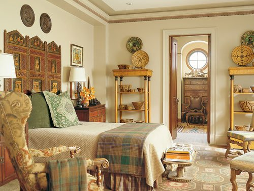 Фотография: Спальня в стиле , Классический, Дизайн интерьера, Викторианский, Ампир – фото на INMYROOM