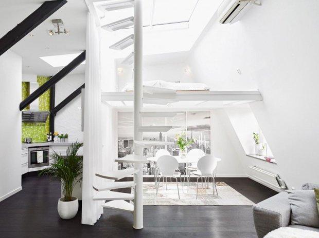 Фотография: Кухня и столовая в стиле Скандинавский, Современный, Лофт, Декор интерьера, Квартира, Дома и квартиры – фото на INMYROOM