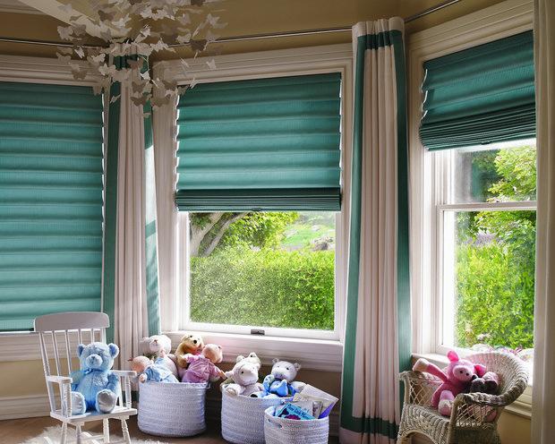 Фотография: Детская в стиле Современный, Квартира, Декор, Советы, как выбрать жалюзи, жалюзи на окна – фото на INMYROOM