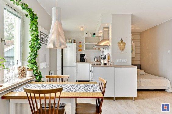Фотография: Прочее в стиле Эклектика, Скандинавский, Декор интерьера, Малогабаритная квартира, Квартира, Цвет в интерьере, Дома и квартиры, Белый – фото на INMYROOM