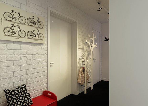 Фотография: Прихожая в стиле Лофт, Квартира, Дома и квартиры, IKEA – фото на INMYROOM