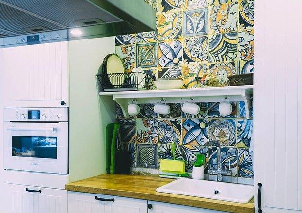 Фотография: Прочее в стиле Лофт, Кухня и столовая, Квартира, Мебель и свет, Переделка, Ремонт на практике – фото на InMyRoom.ru
