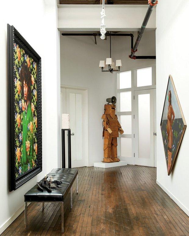 Фотография: Прихожая в стиле Лофт, Декор интерьера, Квартира, Дома и квартиры, Проект недели, Илья Беленя – фото на INMYROOM