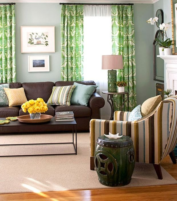 Фотография: Гостиная в стиле , Декор интерьера, Квартира, Дом, Декор, Зеленый – фото на INMYROOM