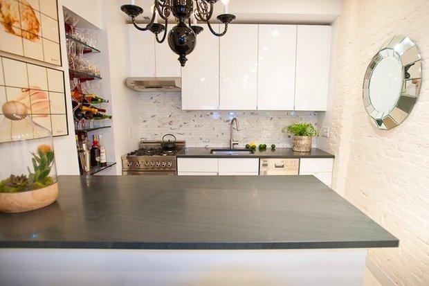 Фотография: Кухня и столовая в стиле Скандинавский, Квартира, Дома и квартиры, IKEA, Стена – фото на INMYROOM