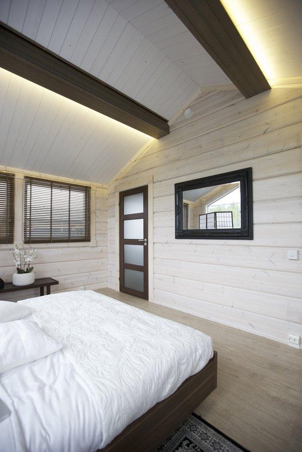Фотография: Спальня в стиле Современный, Эко, Декор интерьера, Декор, Мебель и свет, освещение – фото на INMYROOM