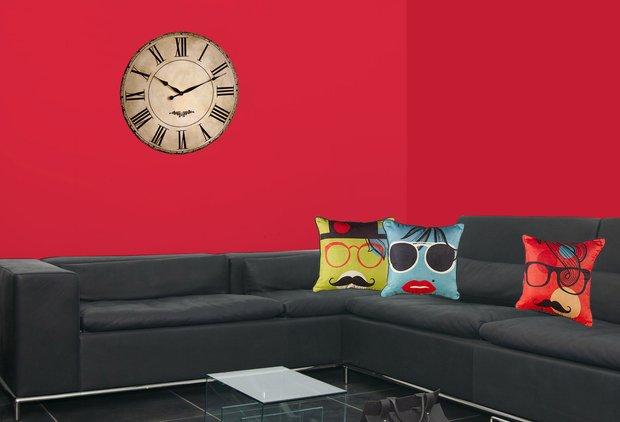 Фотография: Прочее в стиле , Гостиная, Интерьер комнат, Тема месяца, Подушки, Поп-арт – фото на INMYROOM