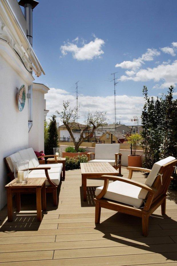 Фотография: Балкон, Терраса в стиле , Современный, Эклектика, Квартира, Дома и квартиры, Минимализм – фото на INMYROOM