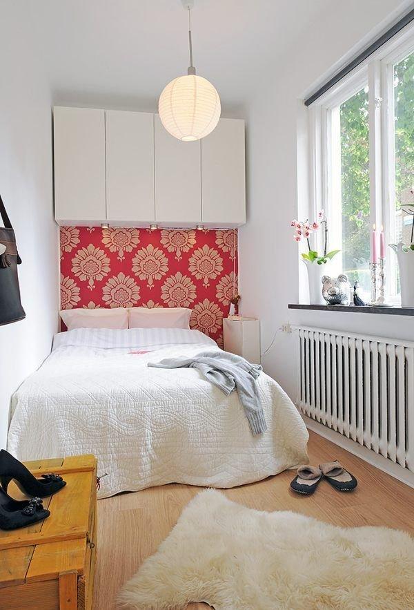 Фотография: Спальня в стиле Скандинавский, Интерьер комнат, Хрущевка – фото на InMyRoom.ru