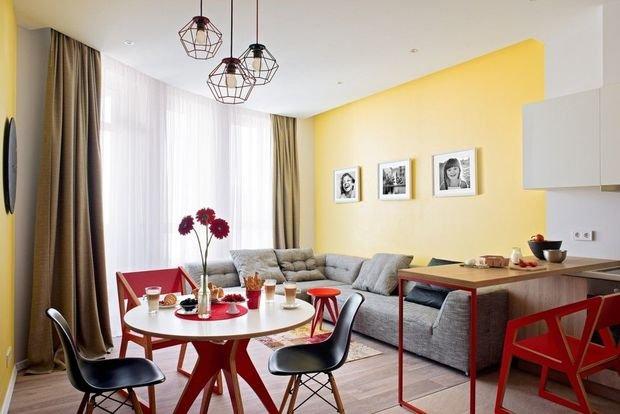 Фотография: Кухня и столовая в стиле Современный, Гостиная, Декор интерьера, Квартира, Дом – фото на INMYROOM