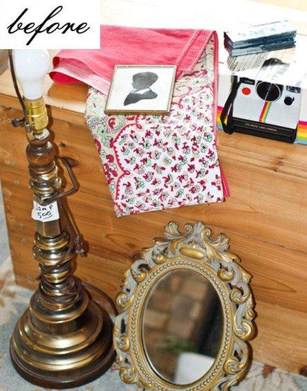 Фотография: Прочее в стиле Прованс и Кантри, Кухня и столовая, Декор интерьера, DIY, Мебель и свет, Переделка, Кресло, Диван, Люстра, Комод, Зеркало, Стул, Холодильник, идеи переделки старой мебели, переделка старой мебели фото – фото на INMYROOM