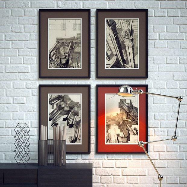 Фотография: Декор в стиле Лофт, Декор интерьера, Декор дома, Цвет в интерьере, Постеры – фото на INMYROOM