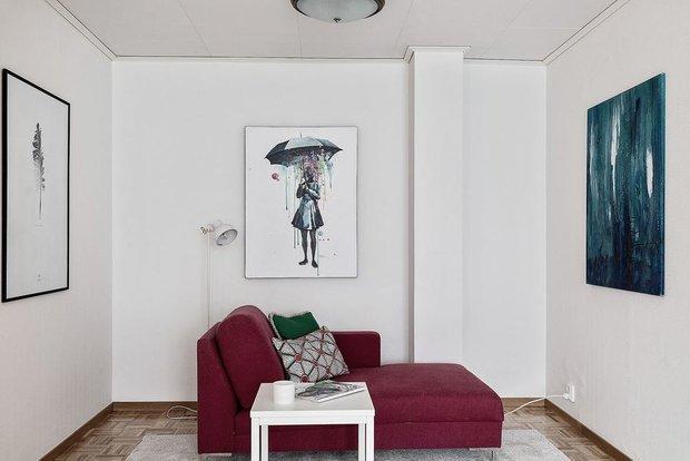 Фотография: Гостиная в стиле Минимализм, Кухня и столовая, Декор интерьера, Дом, Швеция, Стокгольм, как создать уютную атмосферу, 4 и больше, Более 90 метров, гостеприимный интерьер – фото на INMYROOM