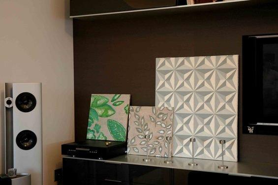 Фотография: Кабинет в стиле Скандинавский, Декор интерьера, Дом, Декор дома, Картина – фото на INMYROOM