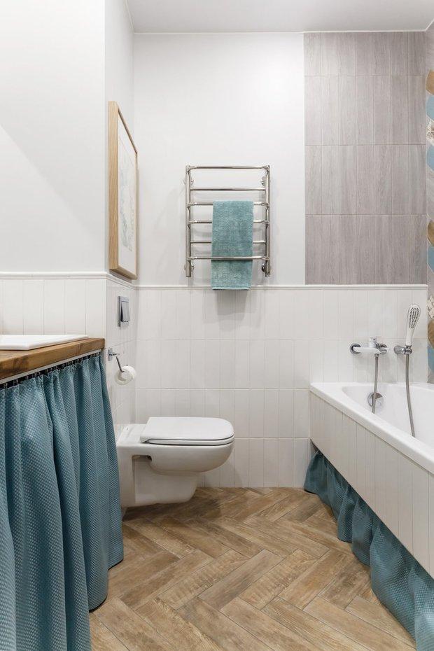 Фотография: Ванная в стиле Скандинавский, Советы, Ремонт на практике, AMPM – фото на INMYROOM