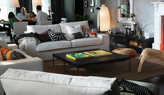 Фотография:  в стиле , Гостиная, Декор интерьера, Квартира, Дом, Интерьер комнат – фото на INMYROOM