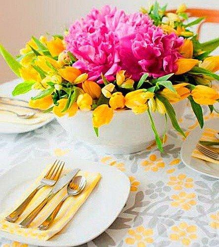 Фотография: Флористика в стиле , Декор интерьера, Декор дома, Праздник, Советы, 8 марта – фото на INMYROOM