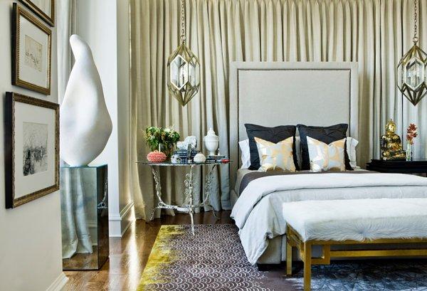 Фотография: Спальня в стиле Эклектика, Квартира, Дома и квартиры – фото на INMYROOM