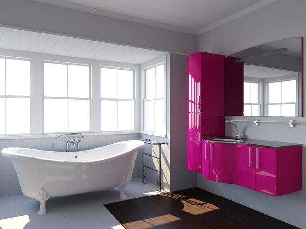 Фотография: Ванная в стиле Хай-тек, Интерьер комнат – фото на INMYROOM