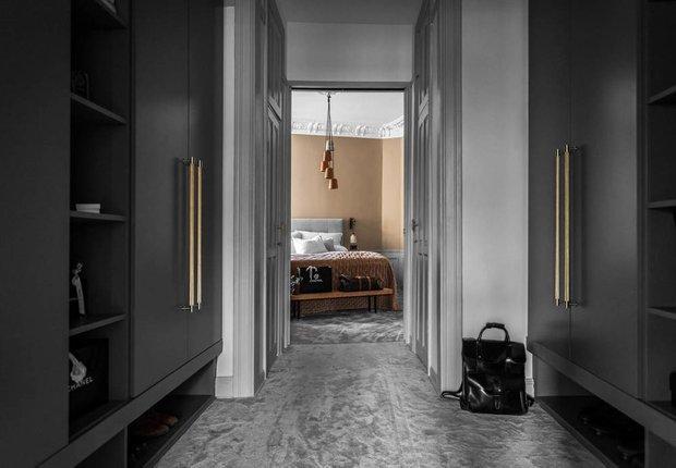 Фотография: Прихожая в стиле Скандинавский, Классический, Декор интерьера, Швеция, Бежевый, Стокгольм, Серый, 3 комнаты, 60-90 метров – фото на INMYROOM