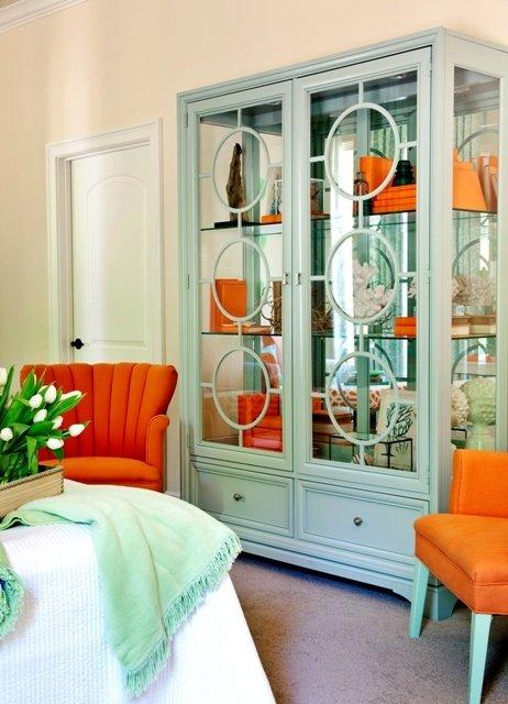 Фотография: Спальня в стиле Современный, Эклектика, Декор интерьера, Декор дома, Цвет в интерьере – фото на INMYROOM