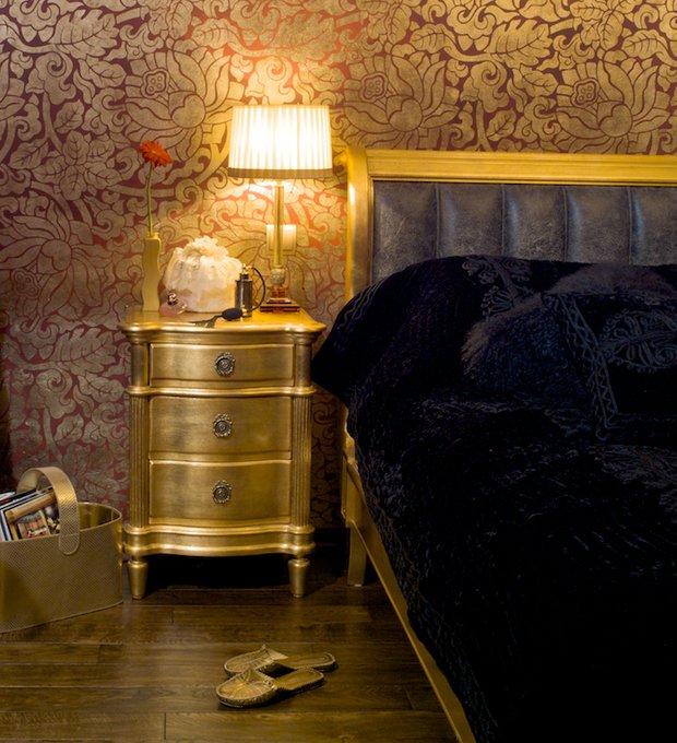 Фотография: Спальня в стиле Классический, Современный, Эклектика, Декор интерьера, МЭД, Мебель и свет, Краска – фото на INMYROOM