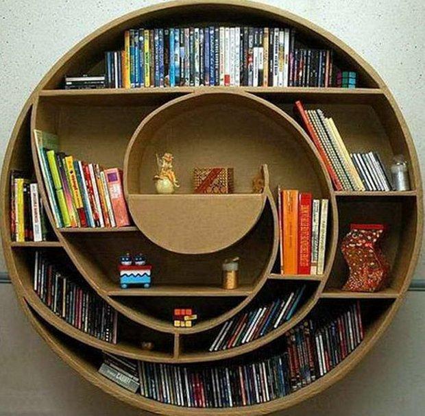 Фотография: Мебель и свет в стиле Современный, Системы хранения, Библиотека, Домашняя библиотека – фото на INMYROOM