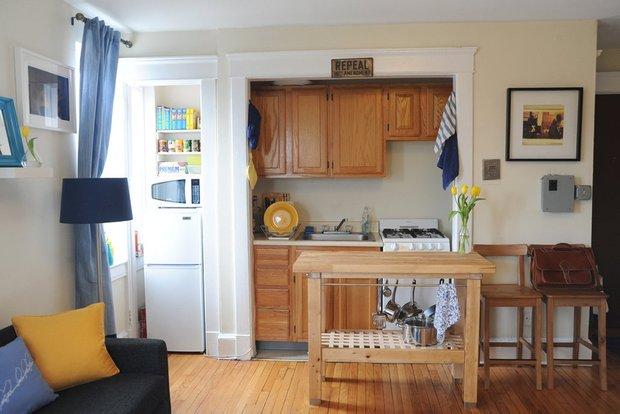 Фотография: Кухня и столовая в стиле , Малогабаритная квартира, Квартира, Дома и квартиры, IKEA – фото на INMYROOM